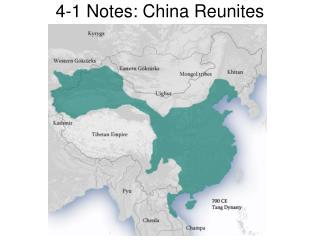 4-1 Notes: China Reunites