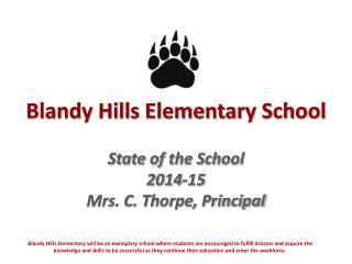 Blandy Hills Elementary School