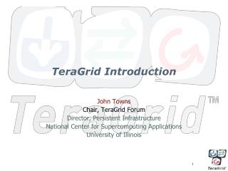 TeraGrid Introduction