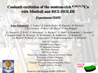 Coulomb excitation of the neutron-rich  67,69,71,73 Cu with Miniball and REX-ISOLDE
