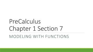 PreCalculus Chapter  1 Section 7