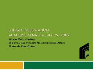 2009-10 General Fund Budget