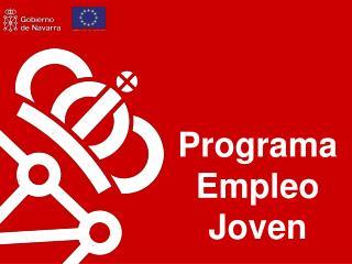 Programa Empleo Joven