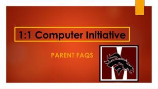 1:1 Computer Initiative