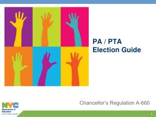PA / PTA  Election Guide