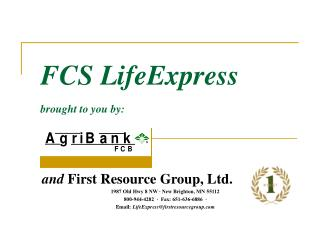 FCS LifeExpress brought to you by: