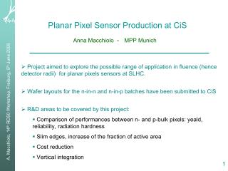 Planar Pixel Sensor Production at CiS