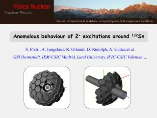 Anomalous behaviour of 2 +  excitations around  132 Sn
