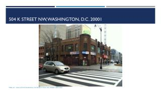 504 K  Street NW, Washington,  D.c.  20001