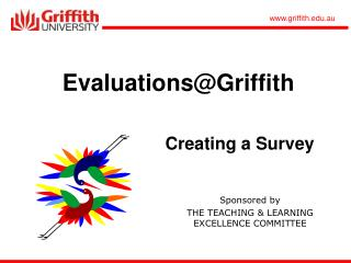 Evaluations@Griffith