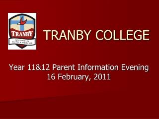 Year 9 2011 Information Evening