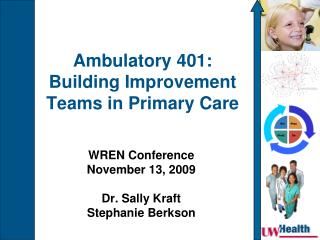 Ambulatory 401: Building Improvement Teams in Primary Care