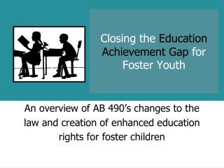Closing the  Education Achievement Gap  for Foster Youth
