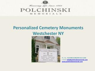 Personalized Cemetery Monuments Westchester NY