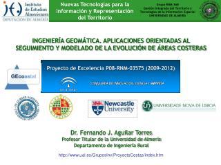 Grupo RNM-368 Gestión Integrada del Territorio y Tecnologías de la Información Espacial