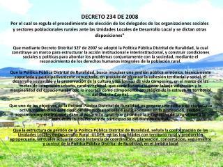 Art�culo  1�.- Plan de Gesti�n para el Desarrollo Rural Sostenible