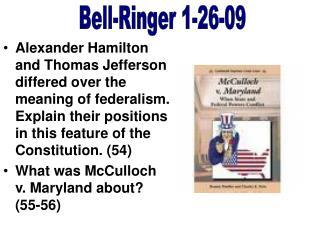Bell-Ringer 1-26-09