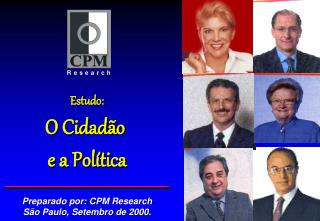 Estudo: O Cidadão  e a Política
