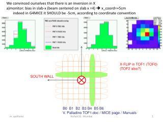 B0  B1  B2  B3 B4  B5 B6 V. Palladino TOF1.doc / MICE page / Manuals
