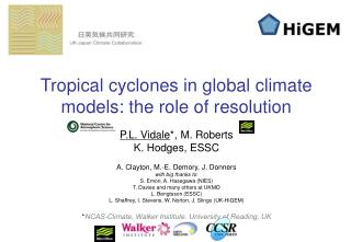 Tropical cyclones in global climate models: the role of resolution