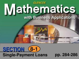 Single-Payment Loans