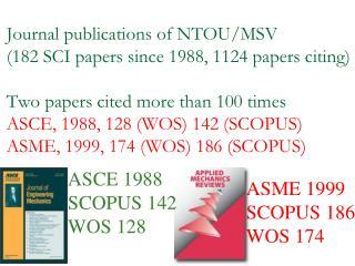 ASCE 1988 SCOPUS 142 WOS 128