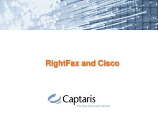 RightFax and Cisco
