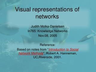 Visual representations of networks