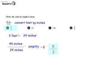 convert feet
