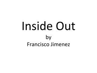 francisco jimenez s reaching out essays