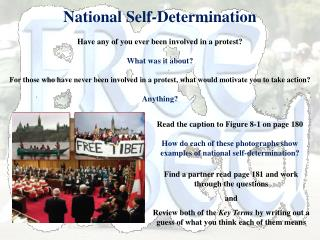 National Self-Determination