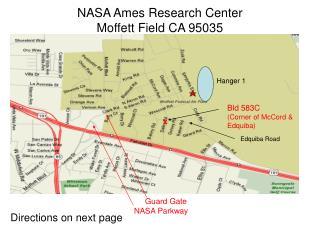 NASA Ames Research Center Moffett Field CA 95035