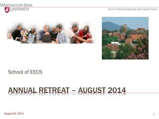 Annual retreat – August 2014