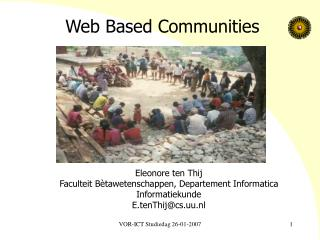 Web Based Communities