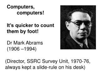 Computers,     computers!