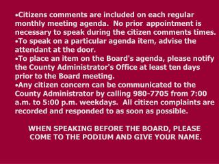 BOARD AGENDA     		      Regular Meeting PULASKI COUNTY	                Sept. 26, 2005