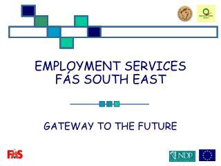 EMPLOYMENT SERVICES FÁS SOUTH EAST