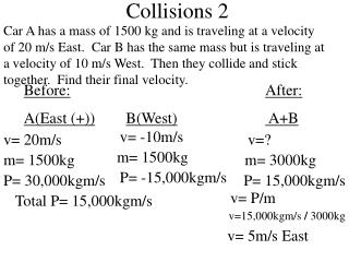 Collisions 2
