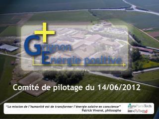 Comité de pilotage du 14/06/2012