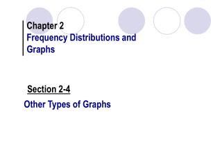 Other Types of Graphs