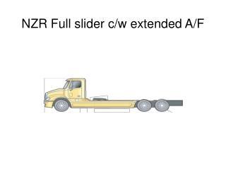 NZR Full slider c/w extended A/F
