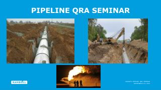 Pipeline  Qra  Seminar