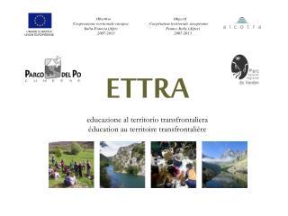 ETTRA educazione al territorio transfrontaliera éducation au territoire transfrontalière
