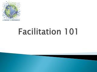 Facilitation 101