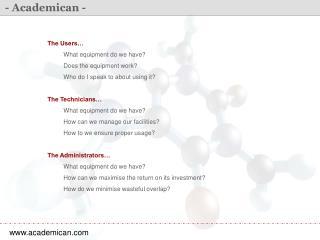 - Academican -