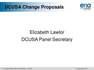 DCUSA Change Proposals