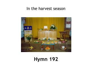 Hymn 192