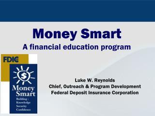 Money Smart A financial education program