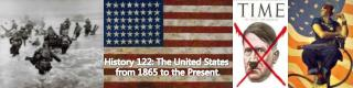 History 122: The United States  from 1865 to the Present.