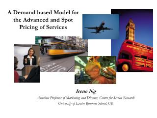 A Demand based Model for the Advanced and Spot Pricing of Services